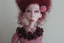 Dolls & Art Dolls.. / by daphne davies