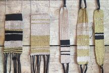 Woven jewelry  / by Allie Wallace