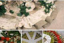 Christmas tree skirts / by Cathy Flaskal