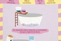 Receita Ilustrada / by Cris Vieira (Kiarteira)