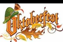 Octoberfest / Beer and brats / by Donna Hyland