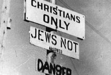 Christian Antisemitism / Two thousand years of Jew hatred from the people who made a Jewish man their Messiah. / by yiddishekempfer
