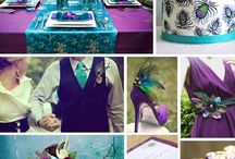 Peacock wedding theme / by White Mischief Bridal