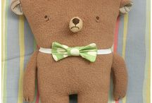 BEARS / Teddies, both classic and new.  / by Abby Glassenberg