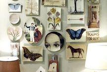 On the walls / by Brandie Pahl
