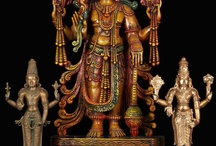 Vishnu the Hindu God of preservation / by Lotus Sculpture