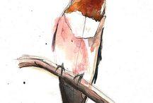 Watercolor Art:  Birds / by Marisete Fachini Girardello