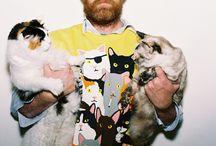 Beard and Cats / by Alivia Shook