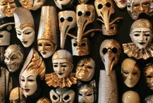 masks / by Lisa Fields Clark
