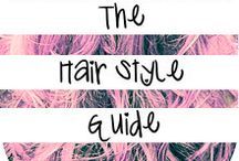 Hair Styles / by Leah Davis