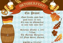 Oktoberfest Party Ideas / by Megan Marlowe~Expressions Paperie