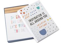 Inspiration Collection  / Our new Inspiration Collection plays with bold primary colours and geometric shapes to present unique everyday essentials and Inspiration Journals designed to help you start living the life you want. Our much-loved Journals have been redesigned with a bright and stylish aesthetic and feature fresh content to help you along your journey. Featuring inspiring quotes throughout, this stylish collection will help encourage and motivate you to dream, achieve, explore and appreciate. / by kikki.K