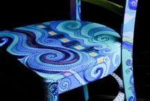 Painted chairs / by Marni Lutz