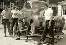 Drag Racing Roots / Vintage Drag Racers / by Rick Graham