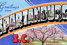 Spartanburg, South Carolina  / My state & town  / by Lisa Lanford