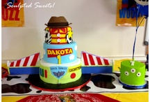 Cakes I've Done! Sculpted Sweets! / by Lydia Sestito