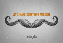 Our Awesome Stuff / Hey there stranger, we make pretty rad stuff. Take a look. / by Integrity