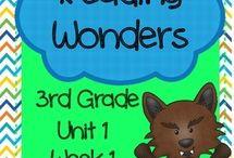 Third Grade Wonders Reading / by Ericka Shaffer