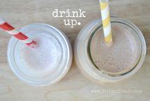 VEGAN GLUTEN-FREE SMOOTHIES/DRINKS / by Maureen Grant