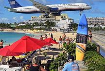 St. Martin / St. Maarten - Caribbean / ST. MAARTEN - ST. MARTIN provides vacationers the opportunity to enjoy three distinct cultures on one 37 square mile island. There is the Dutch on one side, and the French on the other, and the blending of both is what makes this Caribbean so special. / by RumShopRyan - Caribbean Blog
