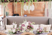 Party decor - Flowers hanging  / by Svetlana Kuperman