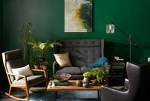 West Elm Paint Collection / We've partnered with West Elm to create seasonal palettes that coordinate with their latest collections. / by Sherwin-Williams