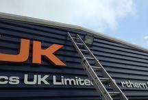KUKA Robotics UK Ltd / by Radecal Signs