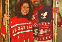 Ugly Christmas sweater party / Christmas dinner party  / by Alison Wilson