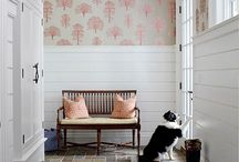 Walls / Wallpaper, paint, molding, etc / by Emily Marshall