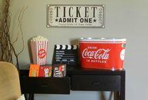 Cinema/Theater/Media rooms / by Kelyn Powell