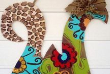 Decorated letters / by Nicole Wallace