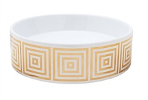 Gold & Platinum Designs | Hand Painted Sinks / We've taken inspiration from times old and new to create these unique designs to coordinate with today's bathroom trends. Customize your master bath, powder room or guest bath with one of our contemporary hand painted sinks in real metallic gold or platinum. All of our sinks are decorated by hand in the USA and kiln-fired for lasting durability. / by Decorated Bathroom
