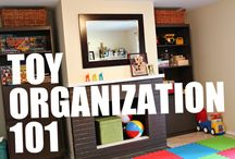 Organizing - the Toys / by Livable Learning