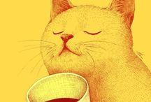 Coffee and tea / by Kathie Sack-Cumming
