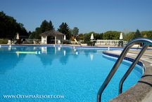 Outdoor Pool at Olympia Resort / by Olympia Resort: Hotel, Spa & Conference Center