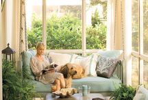 Home: Sun Room / Orangery, conservatory, greenhouse, living room, dining room, and over all sun baby home. / by Sarah Hatcher-Peters