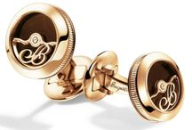 Brequet Cufflinks / The standard by which all watchmaking is judged - Since 1775, Breguet timepieces have been crafted according to the values set forth by founder A.-L. Breguet: beauty, elegance and understated design matched with a mastery of complex horology. Celebrated for its unique combination of technological innovations and iconic designs, Breguet boasts one of the most storied histories of any watch brand. / by Manfredi Jewels