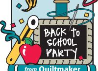 Back to School Party / by Quiltmaker Magazine