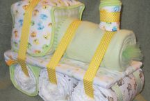 diaper cakes / by Mary Clarisse