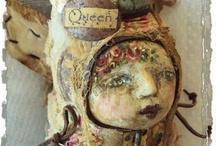 Art Dolls n Stuffies / by Sunny Hamrick