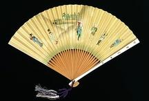 Fans / fans, japanese fans, oriental fans / by Yorke Antique Textiles