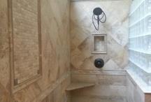 Bathroom remodel / by Barbara Golden
