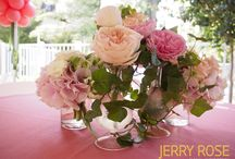 Bridal Shower / Bridal Shower in pink and coral tones / by Jerry Rose Floral and Event Design