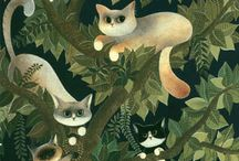 Cats / by Leah Webb