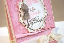 Card Inspiration-Retired Stampin' Up! / by Bonnie Montgomery