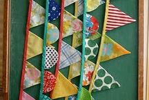 For the love of bunting! / by Becky