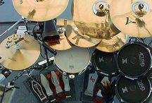 Drums / Drums, drumkits,and drummers. / by Steve Clayton
