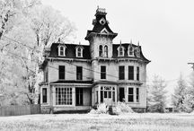 Old mansions and abandoned / by Pam Tullis
