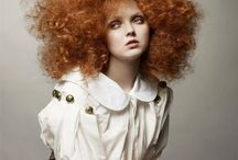 Lily Cole / Lily Luahana Cole is an English model and actress. Her modelling career was launched by a chance encounter with Benjamin Hart in Soho when she was 14 years old / by Speranza Phillips