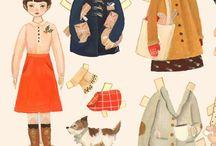 Paper Dolls / by Anna Pesicka